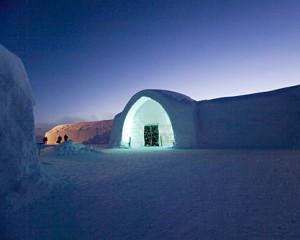 Hotel strani: l'hotel tra i ghiacci
